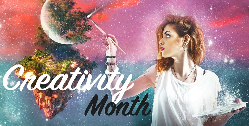 Creativity Month Article Image