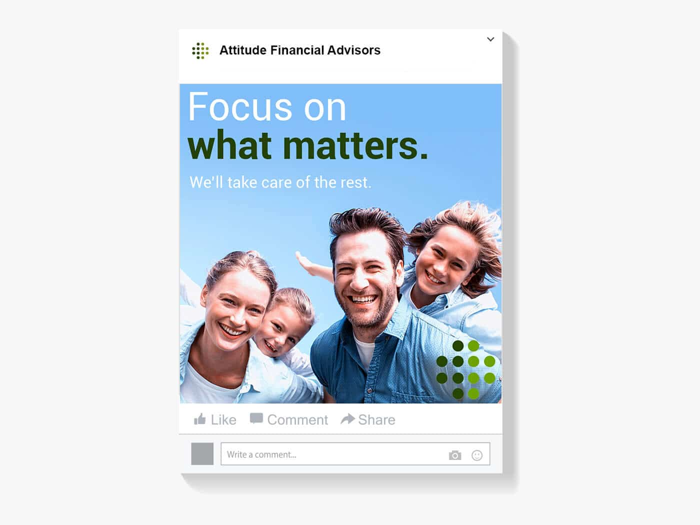 Attitude Financial Advisors Social Post